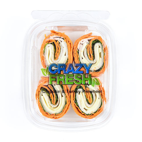 Gone are the days of making your own turkey rollups! Now you can have Chipotle Turkey Pinwheels as a simple, delicious snack without prep.