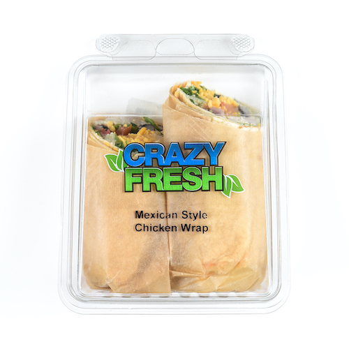 Lunch doesn't have to be difficult. With our Mexican Wrap, you can have all your favorite flavors in one convenient package!