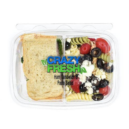 82297 Ham Sandwich & Pasta Salad