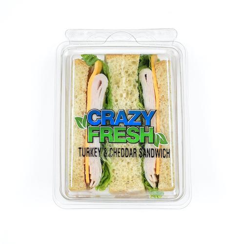 80506 Turkey & Cheddar Sandwich