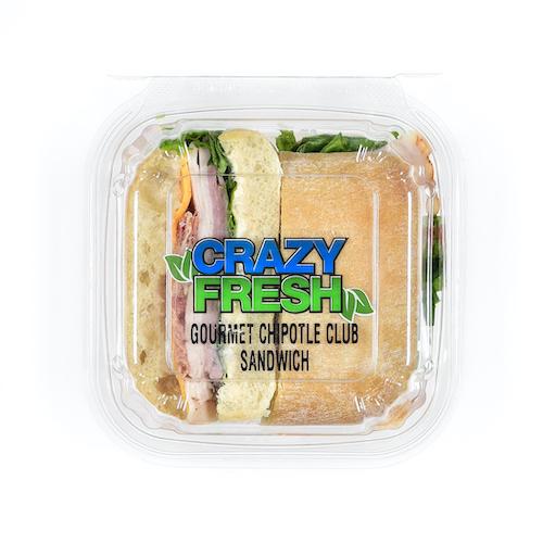 80508 Gourmet Chipotle Club Sandwich