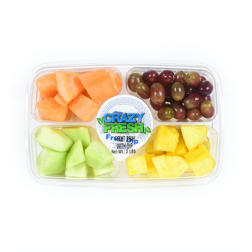 80912 Fruit Tray with Dip 2lb