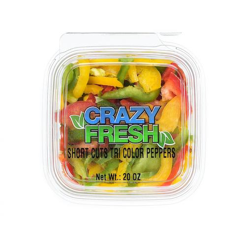 81003 Short Cuts Tri-Colored Peppers