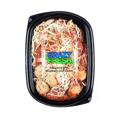 81122 Spaghetti & Meatballs – Single-Serve
