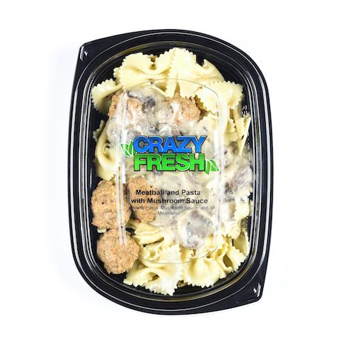 81192 Meatball & Mushroom Pasta