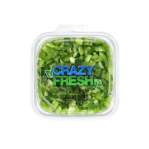 82610 Diced Green Peppers