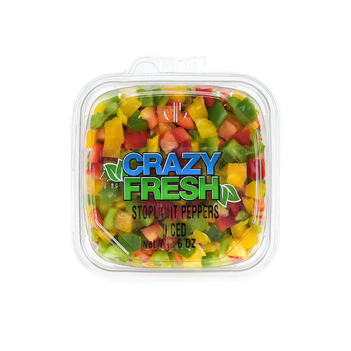 82641 Diced Stoplight Peppers