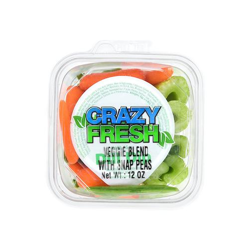 82715 Veggie Blend with Snap Peas & Dip