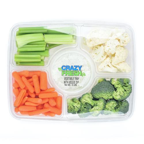82720 Veggie Tray with Dip – 3lb