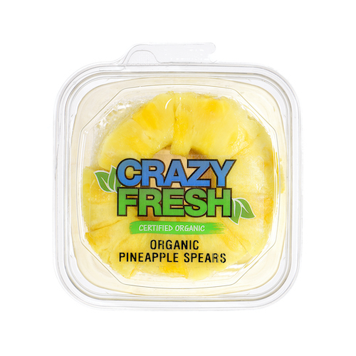 84917 Organic Pineapple Spears