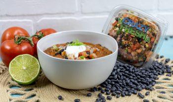 Black Bean Chicken Tortilla Soup