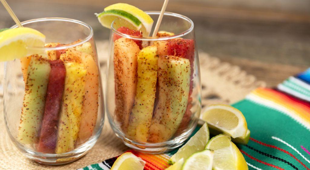 Spicy Fruit Spears Recipe
