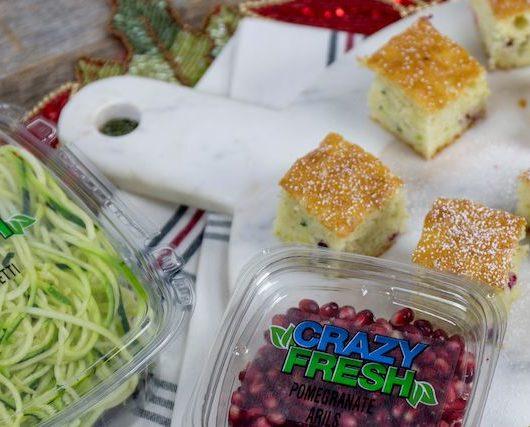 Sweet Zucchini Pom Bites