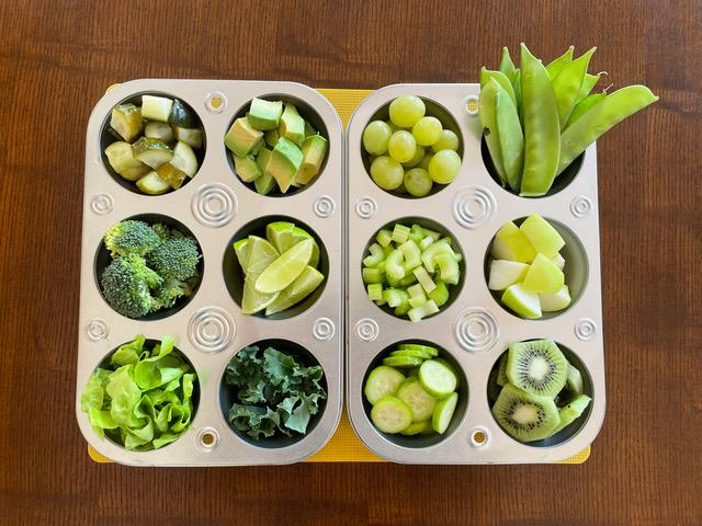 Green Food Taste Test
