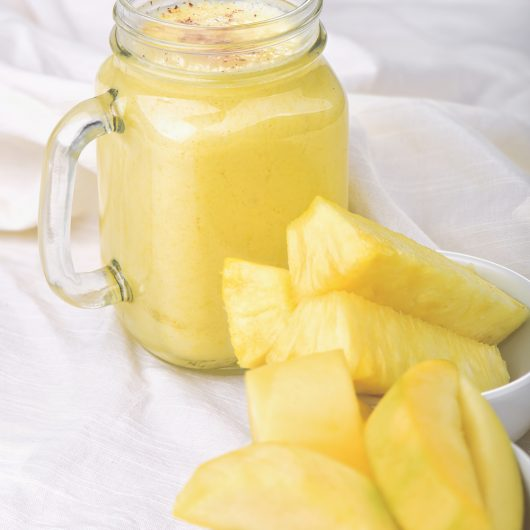 Tropical Organic Pineapple Mango Smoothie