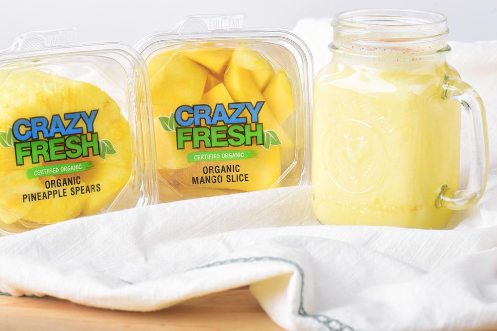 Organic Pineapple Mango Smoothie