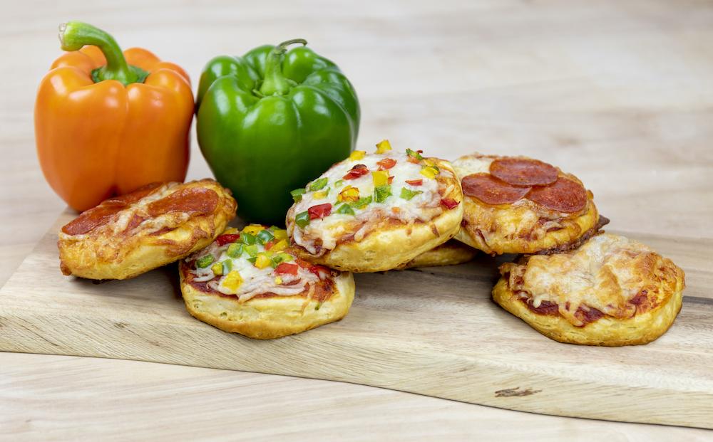 Kids Club Mini Pizzas