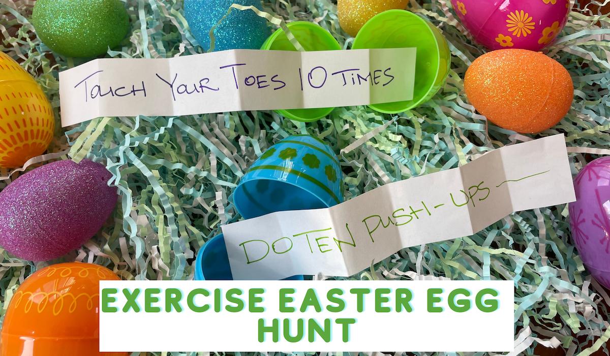 Exercise Easter Egg Hunt