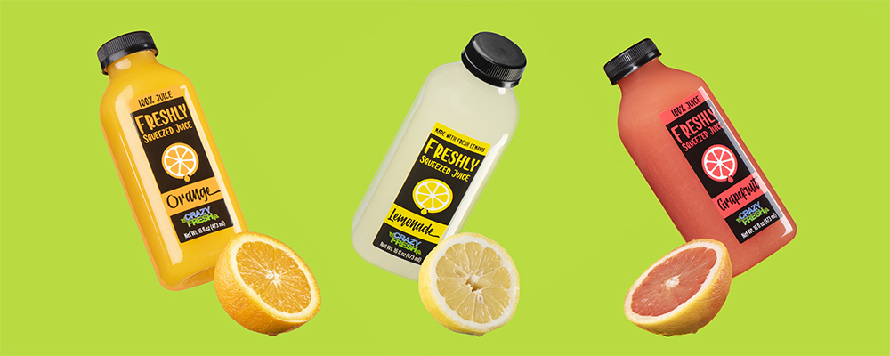 Freshly Squeezed Juices Family