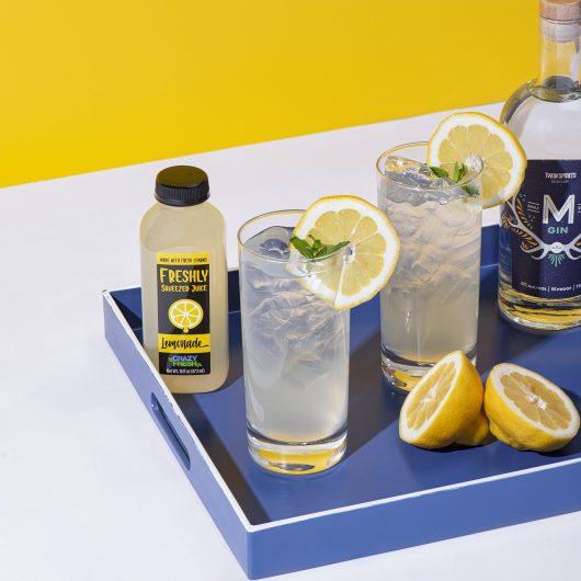 Freshly Squeezed Lemonade Tom Collins