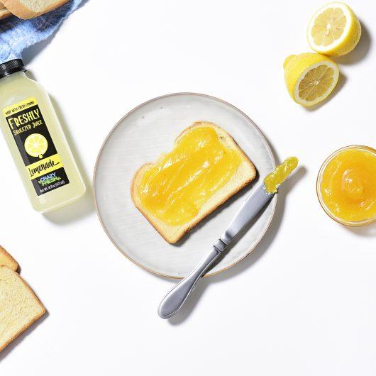 Crazy Fresh Lemon Curd
