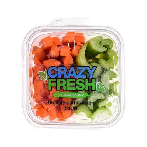 89355 Org Carrot Celery Sticks