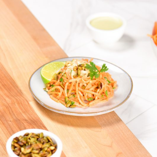 Avocado Sweet Potato Noodles