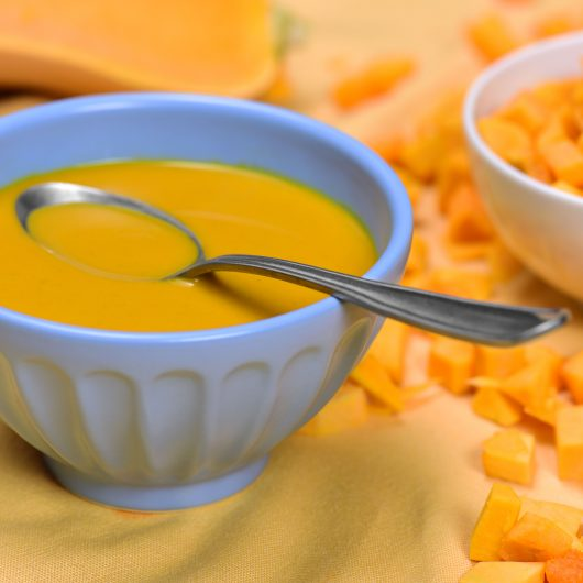 Fall Crockpot Butternut Squash Soup
